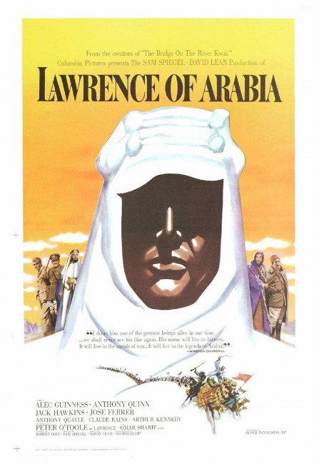 Lawrence of Arabia movie posters 1
