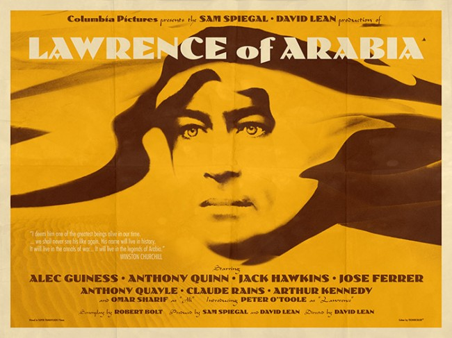 Lawrence of Arabia movie poster 10
