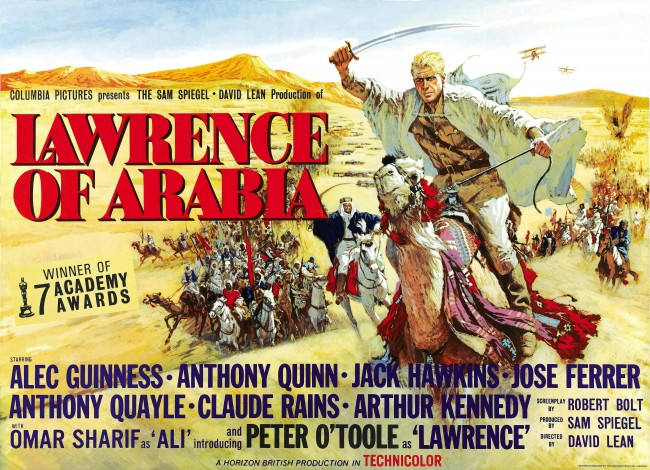 Lawrence of Arabia movie poster 8