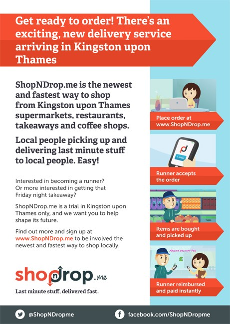 ShopNDrop fast flyer