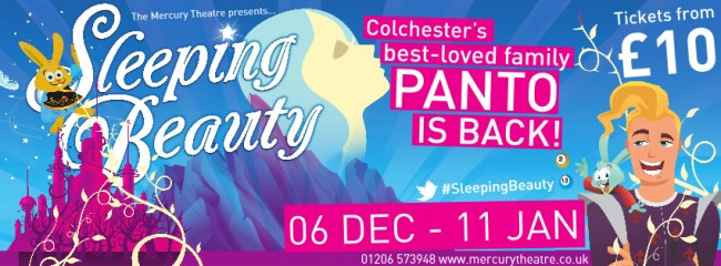 Sleeping Beauty panto poster