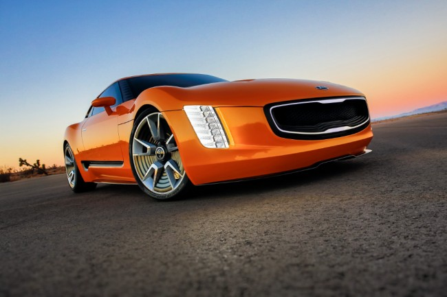 Kia GT4 Stinger concept car design