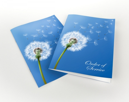 Solopress Order of Service booklet printing