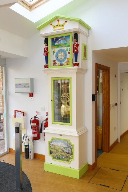 Little Havens Hospice clock