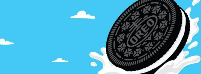 Graphic design for Oreo
