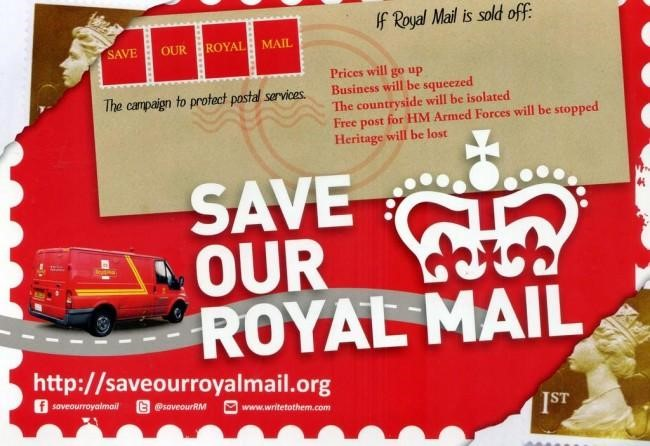 Save Our Royal Mail Leaflet