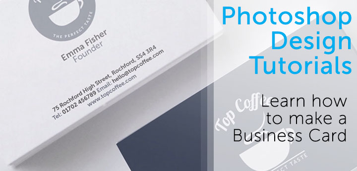 Photoshop Video Tutorials: How To Design A Business Card ...