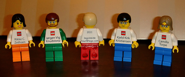 LEGO Minifigs business cards