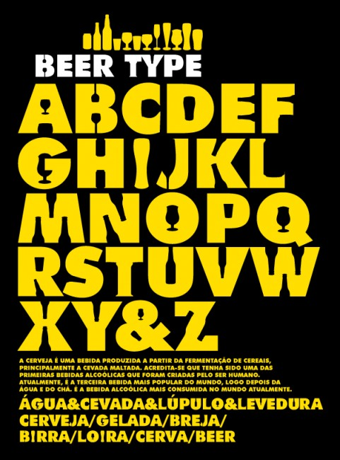 Beer Type by Rogerio Oliveira