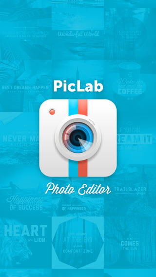 Pic Lab iOS typography apps
