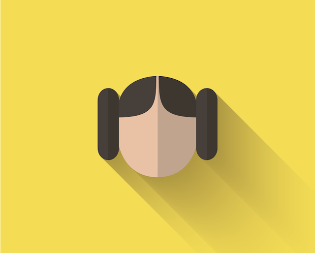 Princess Leia icon