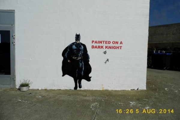 Painted on a Dark Knight by JPS