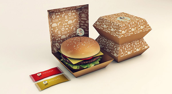 illegal burger packaging by isabella rodriguez
