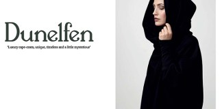 Flyer cover for Dunelfen cape coats by Solopress