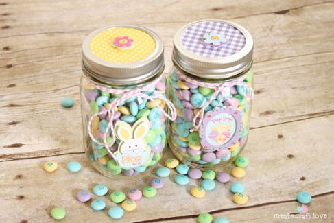 Easter Themed Jars