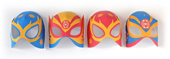 www.shesaved.com Cinco De Mayo Masks