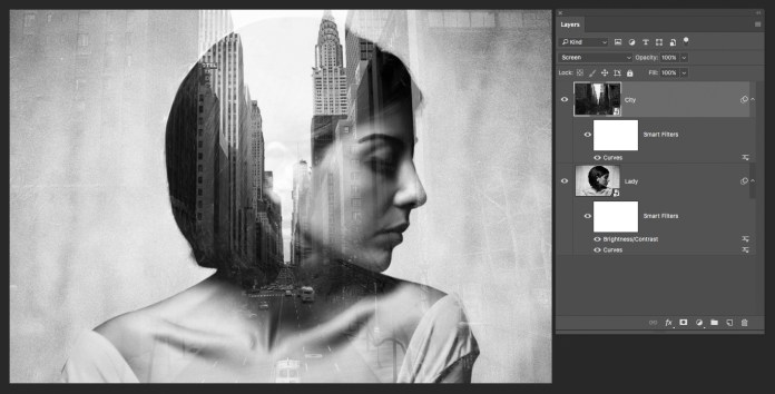 Desaturate two images. How to Create a Double Exposure Effect in Photoshop