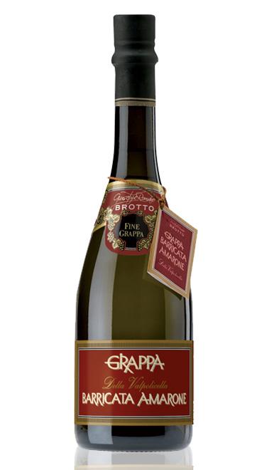 Grappa Brotto Barricata Di Amarone  Cod 5559
