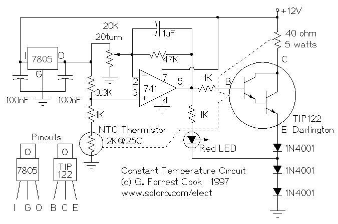 Amp Meter Wiring Diagram Resistor Constant Temperature Circuit