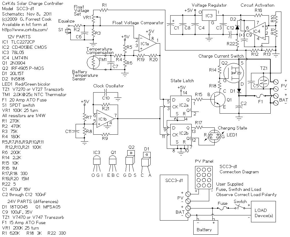 scc3 12 volt 20 amp solar charge controller