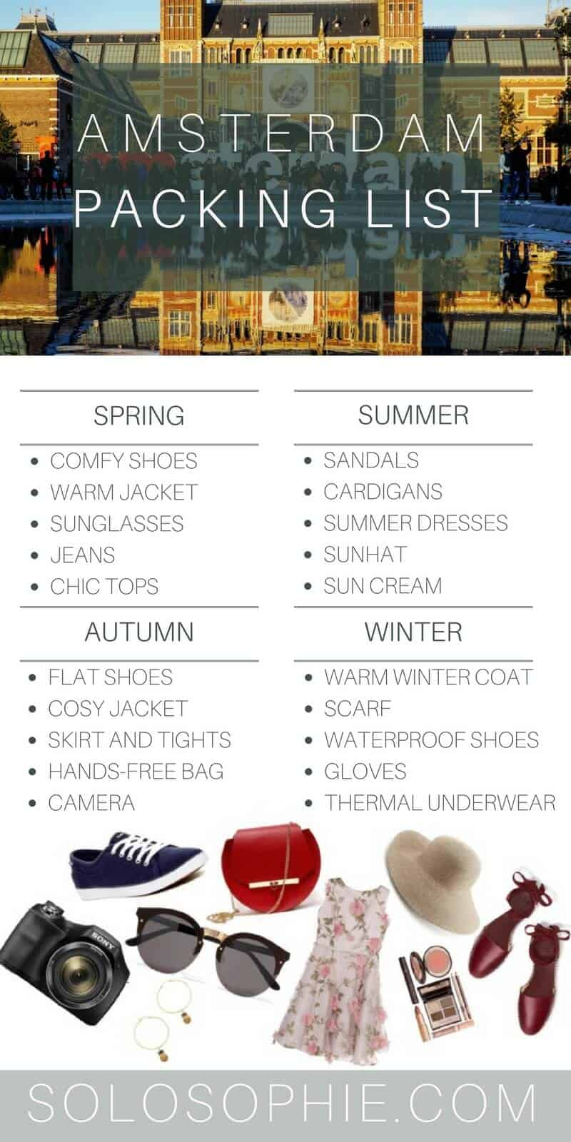 What To Pack For Amsterdam Outfit Ideas And Fashion Guide Solosophie