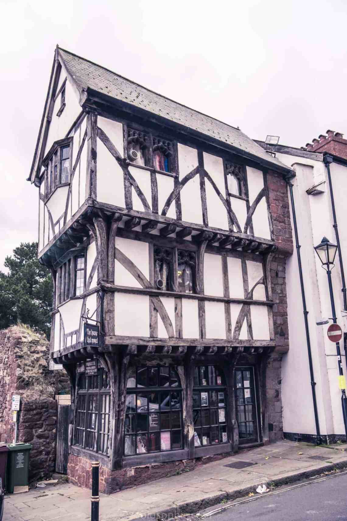 The House That Moved: Timber-Framed Tudor House, Exeter ...