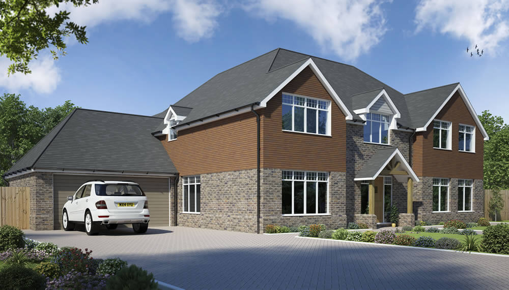 Vachery 5 Bedroom House Design  Designs  Solo Timber Frame