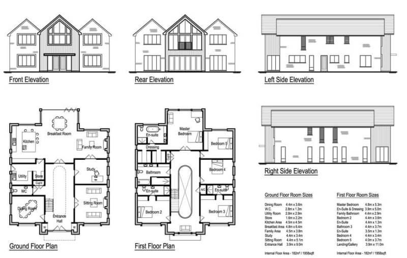 4 Bedroom House Designs Uk