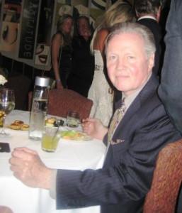 Actor Jon Voight Enjoying Dinner at Michael's on East, a Sarasota-Manatee Original, During Sarasota Film Festival, April 2009
