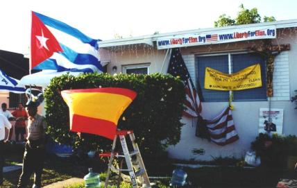 Elian Gonzalez was Taken from His Home, April 22, 2000 - Elian's Home