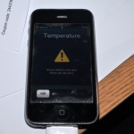iPhone's Caution Message