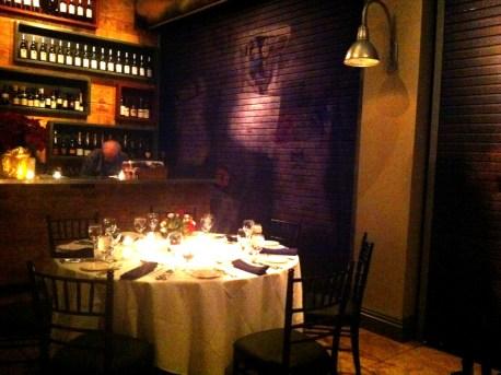 Interior of Michael's Tasting Room, Sarasota, Fla., Dec. 2010