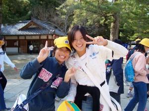 More Curious School Kids, Nara, Japan