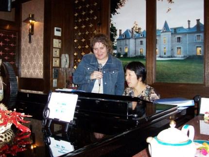 Singing in Hamamatsu, Japan
