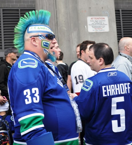 Canucks Fan, Game 5 Stanley Cup Playoffs, Rogers Arena, Vancouver, B.C.