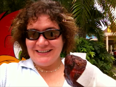 Lunch at Universal Studios? Has to be a Turkey Leg!