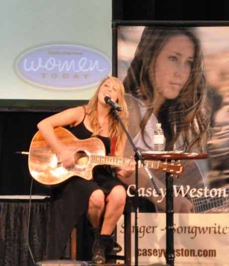 "Singer, Songwriter and NBC's ""The Voice"" Contestant Casey Weston Performs at Naples Daily News Women Today Expo, Oct. 1, 2011"