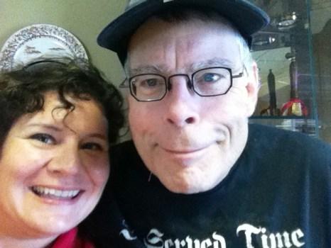 Me and Stephen King, Sarasota, Fla., March 2011