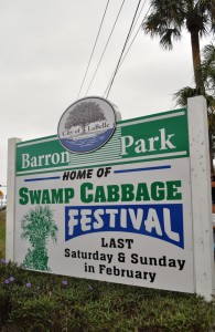 Barron Park, Home of the LaBelle Swamp Cabbage Festival, Florida