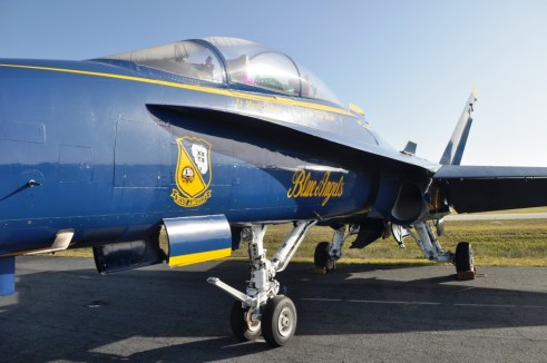 Up Close with Blue Angels Jet #7, Punta Gorda Airport, March 22, 2012