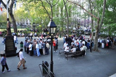 Columbus Park, NYC, April 17, 2012