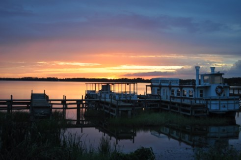 Sunset Over Lake Dora, Mount Dora, Florida