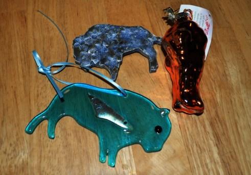 Sampling of Fun Buffalo Mementos I Received for Christmas