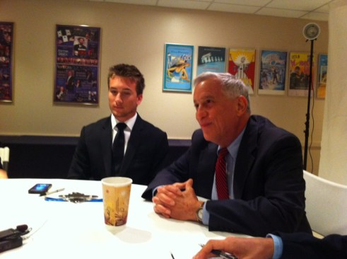 Walter Isaacson Fields Questions from Members of the Press, Jan. 15, 2013