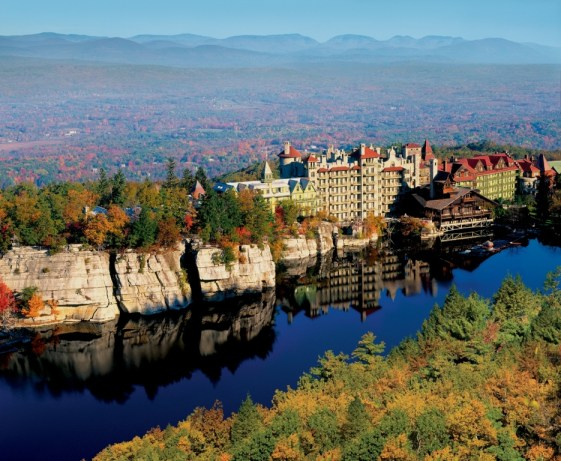 Mohonk Mountain House Fall Shot Credit - Jim Smith Photography