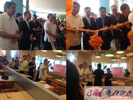 Yoshinoya Ceremonial Ribbon Cutting