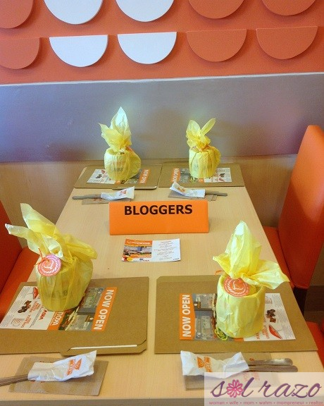 Yoshinoya Blogger's Table