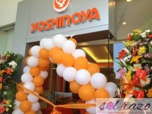 YOSHINOYA's grand return at SM Mall of Asia (MOA)