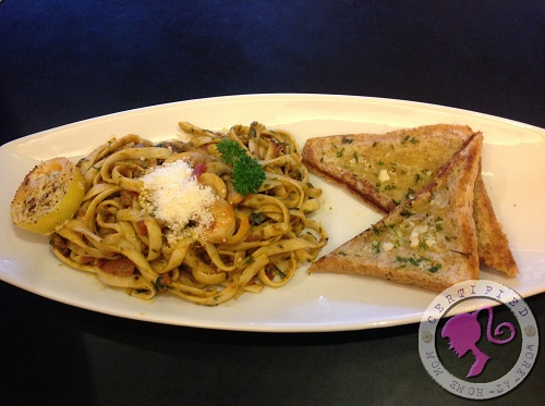 Qaldi Seafood Pasta Marinara