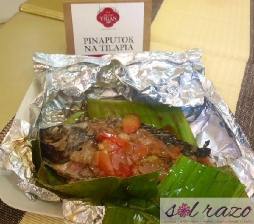 Metro Vigan Cafe Pinaputok na Tilapia